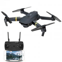 Eachine E58 WIFI FPV With Wide Angle Camera High Hold Mode Foldable RC Drone Quadcopter RTF - 480p