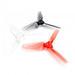 6 Pairs Emax AVAN Mini 3 Inch 3X2.4X3 3-blade RC Drone FPV Racing Propeller CW CCW - Transparent