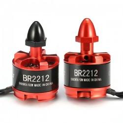 2X Racerstar Racing Edition BR2212 980KV 2-4S Brushless Motor For 350 380 400 Frame Kit