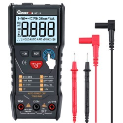 MUSTOOL MT110 Auto Measure Multimeter True RMS Digital 6000 Counts Display Multimeter+High Voltage DC1000V Protection