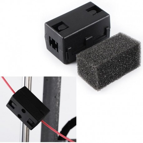 1.75mm ABS/PLA Filament Cleaner Dust Removal Block For 3D Printer Part