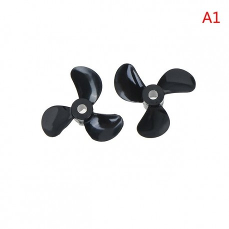 3 Blades 4mm Rc Boat Three Blades Paddle Nylon Boat Propeller Positive & Reverse Screw High Strength D28/32/36/40/44/48mm