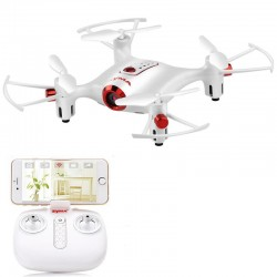 SYMA X20W WiFi FPV with Camera High Hold Mode Waypoint 2.4G 4CH 6-aixs RC Drone Quadcopter