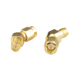 SMA Male to RP-SMA Female 45 Degree Antenna Adapter Connector