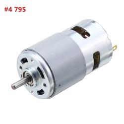 Machifit 795 Motor DC 12V-11000RPM Motor Large Torque Gear