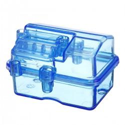 Mini Waterproof Plastic Transparent Receiver Box P2047 For 1/10 RC Short Course Slash HQ727