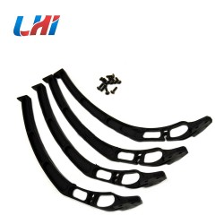 4PCS Universal Tall Landing gear skids for F450 F550 S500 SK480 fpv camera for drone frame