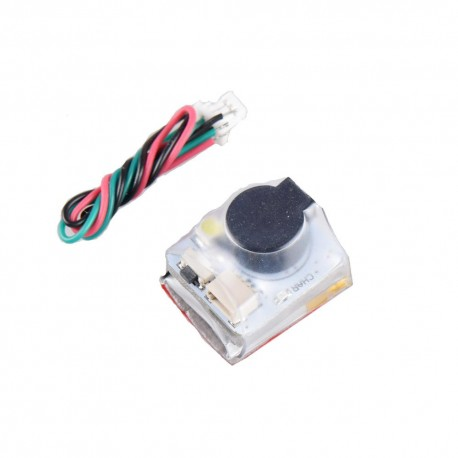 JHE42B_S Finder 5V Super Loud Buzzer Tracker 110dB Built-in Battery for Flight Controller RC Drone