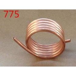 1PC Copper Water Cooling Ring 775 Brushed Motor Cooling Rings Brass Tube for DIY RC Jet Boats