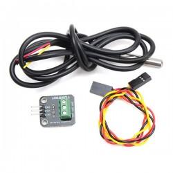 DS18B20 Temperature Sensor Module Kit Waterproof Electronic Building Block For Arduino