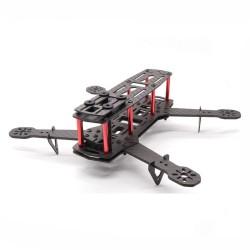 HSKRC QAV250 V5 250mm Wheelbase 5 Inch 4mm Arm Frame Kit Carbon Fiber for RC Drone FPV Racing