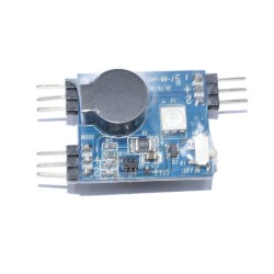 110DB Buzzer Tracker with LED Light Built-in Button Battery for RC Drone FPV Racing