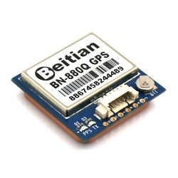 Beitian BN-880Q GPS+GLONASS Dual GPS Antenna Module FLASH TTL Level 9600bps for FPV RC Racing Drone