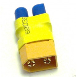Male XT60 to female EC3 connector
