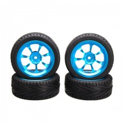 A-alloy Rims & Tires RC Car Wheels For 1/18 WLtoys A959-B A979-B A959 A969 A979 K929