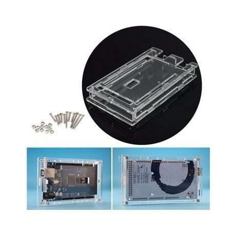 Transparent Acrylic Case Shell Enclosure Protective Box For Arduino MEGA 2560 R3