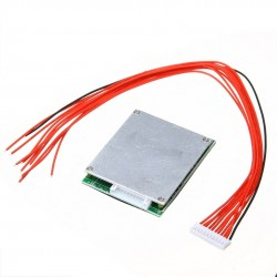 10S 36V 35A Li-ion Lipolymer Battery BMS PCB With Balance Supports Ebike