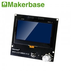 3D printer display MKS LCD12864A intelligent display LCD controller panel