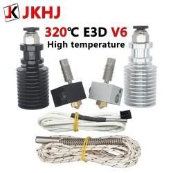 3D Printer Parts 0.4/1.75mm E3D V6 Hotend Kit High temperature version 320 degrees J-head Remote extruder 12V hot end
