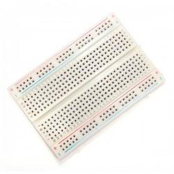 8.5 x 5.5cm 400 Tie Points 400 Holes Solderless Breadboard Bread Board