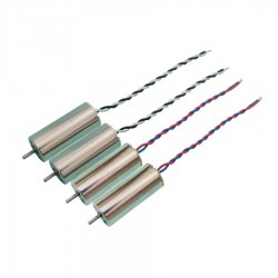 4 pcs 1S/2S Mini 8520 Strong Magnetic Hollow Cup Brushed Motor for FPV Racer RC Drone Quadcopter