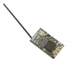 XR601T-C2 14CH SBUS Mini-mottakerstøtte Telemrtry RSSI-kompatibel FlySky AFHDS-2A