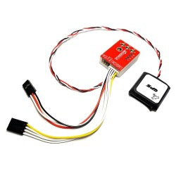 AFPV SN Sparrow FC Flight Controller Stabilizing 6-Axis Gyro With M7 GPS Module for FPV RC Airplane Fixed-Wing