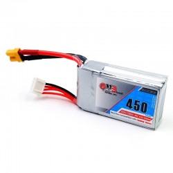 Gaoneng GNB 11.1V 450mAh 80/160C 3S Lipo Battery JST/XT30 Plug