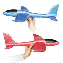 35cm Big Size Hand Launch Throwing Aircraft Airplane Glider DIY Inertial Foam EPP Children Plane Toy