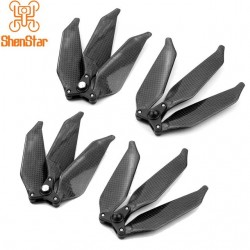 Carbon Fiber 9445 3Blade Triple Paddle Propeller Low Noise Foldable CW CCW Props for DJI Phantom 1 2 3 Pro/Adv/SE