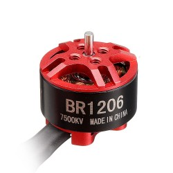 4 pcs Racerstar BR1206 1206 / 7500KV 2-4S Brushless Motor for RC Drone FPV Racing
