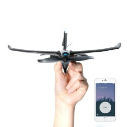 TOBYRICH SmartPlane Pro FPV Smartphone Controlled Mini RC Aircraft with 5.8Ghz 40CH 720*576 FPV Camera Indoor Bluetooth Plane