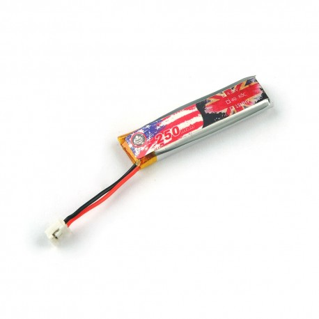 Eachine US65 UK65 Spare Part 3.8V 250mAh 40C/80C PH2.0 Lipo Battery for RC Whoop FPV Racing Drone