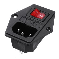 Creality 3D® 220V/110V 15A Short Circuit Protection Safety Power Switch Socket Module For 3D Printer