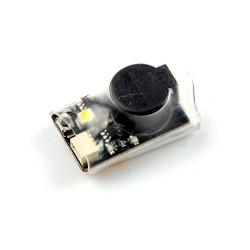 Happymodel DT-B90 90dBi Finder Buzzer Alarm 4.5-9V Input Built-in Battery with LED Light for RC Drone