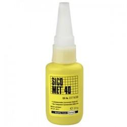 HENKEL Instant Adhesive SICO MET 40, 20g