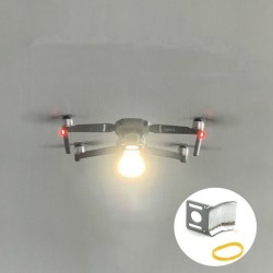 Bottom LED Night Flash Light Reflector Board Front View Rescue Lamp for DJI Mavic 2 Pro/Zoom Drone