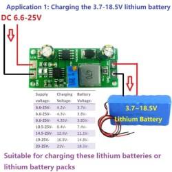 3.7V 3.8V 7.4V 11.1V 12V 14.8V 18.5V Lithium Li-On Lipo 18650 Battery Charger FE