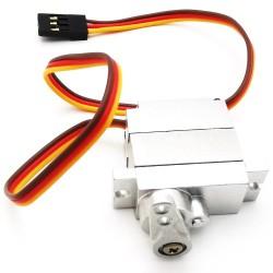 RBR/C 9g All Metal Servo For WPL B1 B16 B24 B36 C1 C24 C34 JJRC Q60 Q61 Q65 MN 90 99 RC Car Parts