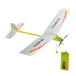 DIY Electricity Airplane Plane Toy Glider Aircraft