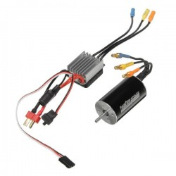 Racerstar 2845 Motor Brushless Waterproof Sensorless 35A ESC Combo 1/12 1/14 RC Car Parts - 3900KV