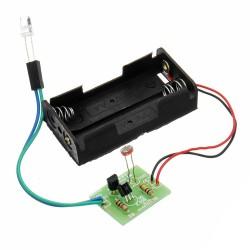 Intelligent Light Control Sensor Switch Module Light Sensor LED Night Light Kit Assembled
