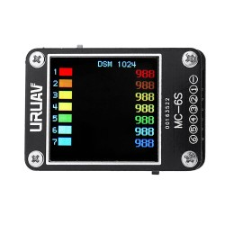 URUAV MC-6S 1-6S Lipo Battery Voltage Checker Receiver Signal Tester