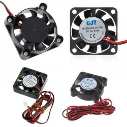DC 24V 2-Pin Cooling Fan 40mm 40x40x10mm 4cm 4010s 9Blade For 3D Printer