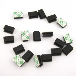 10Pcs Self-Adhesive Car Cable Organizer Clips Cable Winder Drop line Holder