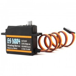 EMAX ES3004 17g 3.5kg 0.13sec 23T Metal Gear Analog Servo For RC Airplane