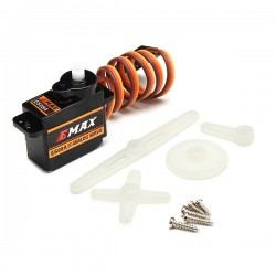 Emax ES08A II Mini Plastic Gear Analog Servo 1.8kg/sec for RC Models