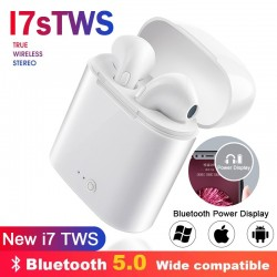 i7s Tws Wireless Headphones Bluetooth Earphones in ear Earbuds Handsfree Headset with Charging Box For iPhone Xiaomi Phone