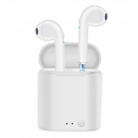 i7s Tws Wireless Headphones Bluetooth Earphones in ear Earbuds Handsfree Headset with Charging Box For iPhone Xiaomi Phone