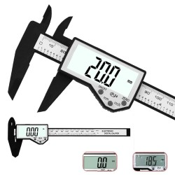DANIU Digital Caliper 6-Inch 150mm Electronic Waterproof IP54 Digital Vernier Caliper LCD Screen Display